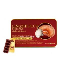 หลินจือพลัสชิตาเกะ Lingzhi plus Shiitake ราคาพิเศษ ซื้อ 1แถม1 ส่งฟรี EMS ทั่วประเทศ