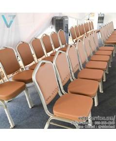 เช่าเก้าอี้บุนวม Vvip [ไม่คลุมผ้า]