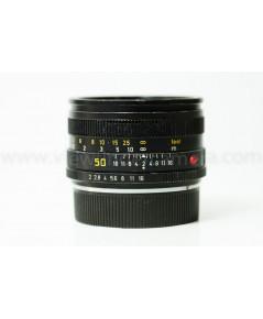 Leica Summicron-R 50mm F2 Lens Beautiful (สินค้าฝากขาย)