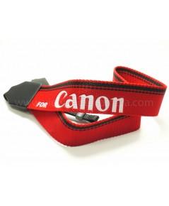 สายสะพายElectra สีแดง ลาย for Canon
