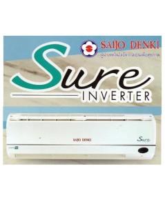 แอร์ซัยโจ SAIJO DENKI Inverter Sure R32-12 12644 BTU  ติดตั้งฟรี! เบอร์5
