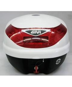 กล่องท้ายรถมอเตอร์ไซค์ GIVI รุ่น E30TEB900 30 ลิตร สีขาว