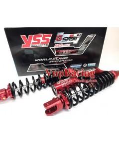 โช๊ค YSS G-SPORT RED SERIES สำหรับ YAMAHA X-MAX รหัส TG302-350TR-08-85 สปริงดำกระปุกแดง