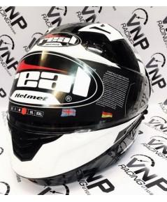 หมวก REAL รุ่น Cosmo R Droid ยกคาง ดำ-ขาว
