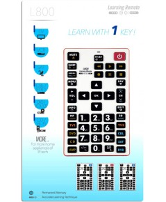 L800 8 in 1 Universal Learning Remote