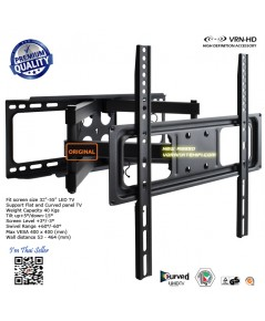 New A3950 ขาแขวนทีวี 32-55 นิ้ว LED,LCD TV,Super Economy Full-motion TV Wall Mounts