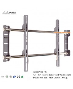4280 Pro FX ขาแขวนทีวี LCD,LED TV 42 - 80 นิ้วแบบ Extra Slim [Max Load 81.6Kgs]