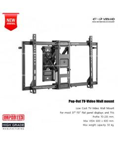 in-wall 3770 series ขาแขวนทีวีแบบ pop-out สำหรับจอภาพขนาด 37-70 นิ้ว