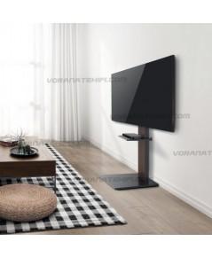 ขาตั้งทีวี ขนาด 37-70 นิ้ว Modern Slim TV Floor Stand with Equipment shelf