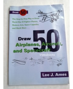 Draw 50 Airplane, Aircraft, and Spacecraft