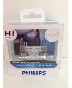 หลอดไฟหน้า Philips รุ่น Blue Vision 4000K