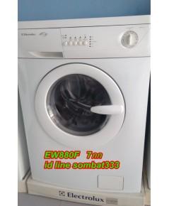 เครื่องซักผ้า อีเลคโทรลักซ์ รุ่น EWF880F   7กิโล ยี่ห้อมือ2เกรด เอ ดีพร้อมใช้ รุ่นท็อป ตามรูปจริง