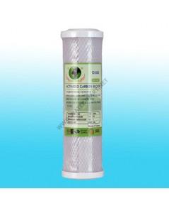 ไส้กรองคาร์บอนอัดแท่ง CTO Carbon Filter Clean Earth ขนาด 10 นิ้ว 10 ไมครอน ไอโอดิน 800 (ID800)