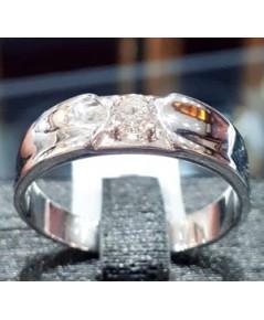 แหวนเพชรชาย  ราคา 29,500 บาท