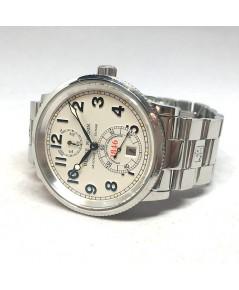 Ulysse Nardin Marine Chronometer 263-22 ขนาด 38mm  หน้าปัดบรอนซ์เงิน บอกวันที่ตำแหน่ง 6 นาฬิกา กระจก