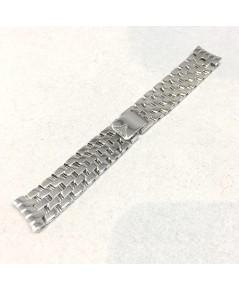 สายนาฬิกาทองคำชุบขาวสำหรับนาฬิกา Longines Lady ขนาดความยาวของสาย 12 cm น้ำหนักทองรวม 46.62 กรัม