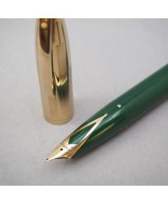 ปากกาคอแร้ง SHEAFFER\'S 1950 Sheaffer Snorkel Triumph ปลายปากเป็นทอง14k (750) ตัวปลอกและชุดเหน็บเคลื
