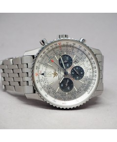 Breitling Navitimer 50th Anniversary A41322 auto chronograph ขนาด 42mm หน้าปัดบรอนซ์เงินสลับวงดำ (แพ