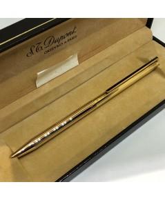 ปากกา DUPONT Orfevres S Paris ตัวเรือนเคลือบทองพร้อมชุดเหน็บยาวลงยา สภาพสวยกล่องใบอุปกรณ์ครบ
