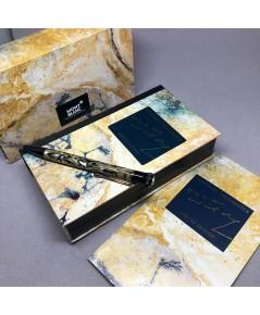 ปากกาหมึกแห้ง MONTBLANC ปี 1994 Limited 10339 / 13000 OSCAR WILDE ตัวด้ามอครีลิคลาย พร้อมชุดเหน็บเคล