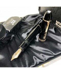 ปากกาหมึกซึม MONTBLANC Fountain 149 Jumbo size ขนาดปลายปากเขียน Type-B ตัวด้ามอครีลิคดำ ระบบสูบหมึกจ