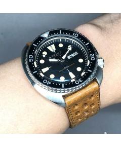SEIKO Vintage 1977 diver รหัส 6306-7001 ใส่ได้ทั้งชาย และหญิง size 44mm หน้าปัดดำพิมพ์พรายน้ำกลม(เฟส