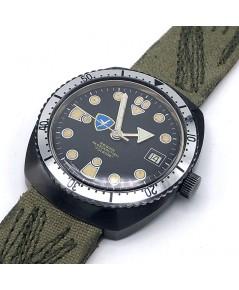 Military Watch BRIGATA PARACADUTISTI \quot; FORGORE \quot; automatic movement ขนาดตัวเรือน  37.5mm ห