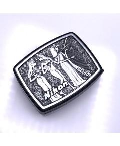 กล้องส่อง NIKON 12D Limited Made In Japan ลายนูนอักษรเฮียโรกลีฟิคของอียิปต์โบราณ สภาพสวยพร้อมใช้งาน