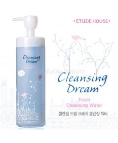 (Pre-order) Etude House Cleansing Dream fresh cleansing water ผลิตภัณฑ์ทำความสะอาดผิวหน้าสูตรน้ำ