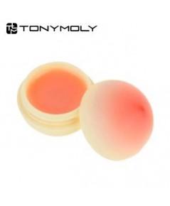 (Pre Order)Tony Moly Mini Peach Lip Balm 7g.บาล์มบำรุงริมฝีปากให้เนียนนุ่ม กลิ่นพีช แพคเกจน่ารักมาก