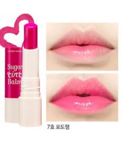 (Pre Order)Etude House Sugar Tint Balm เบอร์ 7 ลิปบาล์มบำรุงริมฝีปาก ให้เนียนนุ่มพร้อมให้สีสวยระเรือ