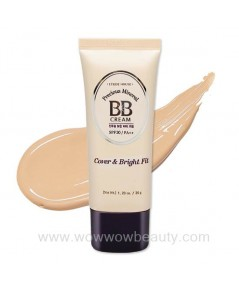 (Pre Order) Etude House Precious Mineral BB Cream Cover Bright Fit spf30  บีบีเน้นปกปิด หน้าผ่อง