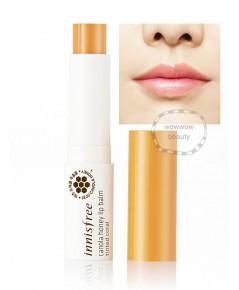 (Pre Order)Innisfree Canola Honey Lip Balm (tint coral) ลิปบาล์มบำรุงริมฝีปาก พร้อมสีส้มอ่อนๆ