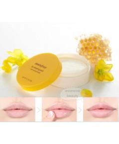 (Pre Order)Innisfree Lip Sleeping Pack with Canola Honey 20g มาส์กบำรุงผิวบริเวณริมฝีปาก ไม่ต้องล้าง