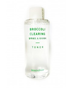 (Pre Order) Innisfree Broccoli Clearing Toner 150ml โทนเนอร์เช็ดผิว เช็ดผิวได้สะอาด ช่วยผลัดเซลล์ผิว