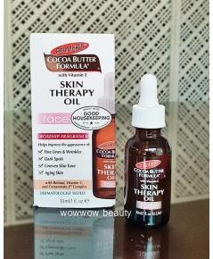 (หมดค่ะ) Palmer Cocoa Butter Formula Skin Therapy Oil Face Rosehip Fragrance 30 ml. ออยล์
