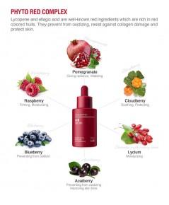 (Pre Order) SkinLab Red Serum 40 ml. เซรั่มช่วยให้ผิวขาวกระจ่างใส ลดริ้วรอย และ ช่วยกระชับรูขุมขน