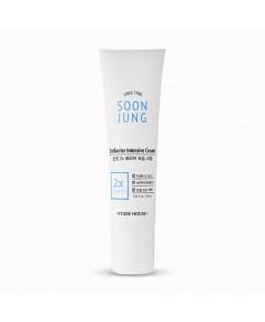(พร้อมส่ง 30 ml.) Etude Soon Jung 2x Barrier Intensive Cream 30 ml. ครีมบำรุงผิวฟื้นฟูผิว ลดการแพ้