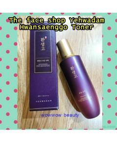 (ป้ายไทย/โทนเนอร์) The Face shop Yehwadam Hwansaenggo Ultimate Toner 160 ml