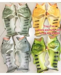 รองเท้าแตะแบบสวม ปลา ขายส่ง