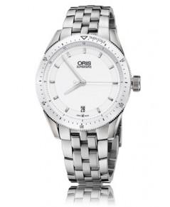 Oris นาฬิกาข้อมือผู้ชาย สายสเเตนเลส รุ่น733 7671 4156 MB