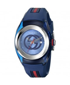 Gucci Sync XXL Blue Dial 46mm Men\'s Watch YA137104