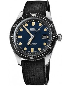 นาฬิกาผู้ชาย Oris Divers Sixty-Five Automatic Men\'s Watch 01 733 7720 4055-07 4 21 18
