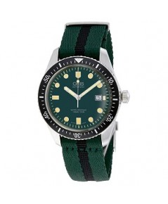 นาฬิกา ผู้ชาย Oris Divers Green Dial Automatic Men\'s Watch 01 733 7720 4057-07 5 21 25FC