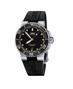 ORIS Aquis Date Automatic Black Dial Men\'s Watch 01 733 7653 4127-07 4 26 34EB