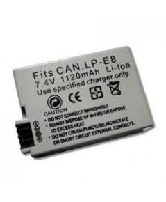 แบตเตอรี่กล้องดิจิตอล Canon LP-E8 Battery for Canon Digital Camera EOS 550D,EOS 600D