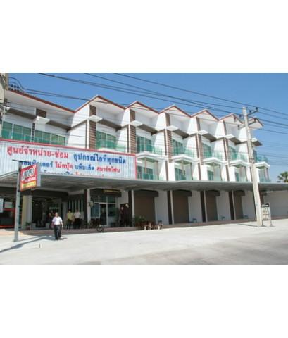 ขาย อาคารพาณิชย์ สร้างใหม่ อ เมือง จ เพชรบุรี ใกล้ โรงเรียน สารสาสน์ และ ราชภัฏเพชรบุรี