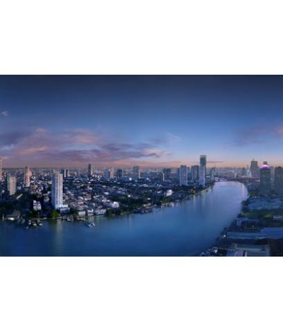 ขาย ดาวน์ คอนโด แม่น้ำ เรสซิเดนท์ (Menam Residences) ย่านเจริญกรุง 72 วิวโค้งน้ำเจ้าพระยา