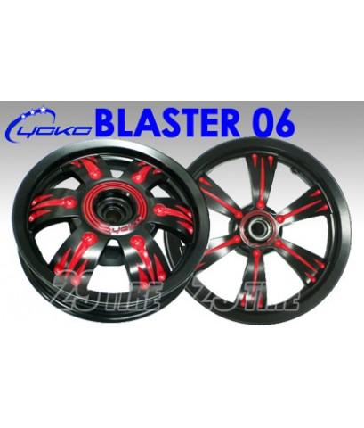 ล้อแม็กจาก YOKO alloy รุ่น Blaster 06 รูปทรง VIP สำหรับ PCX