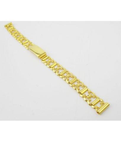 สายนาฬิกา ฉลุลาย ทอง90 งานเก่า หลุดจำนำ สวยมาก นน. 11.00 g